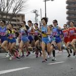 山口ハーフマラソン大会女子