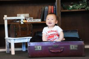 6ヶ月の赤ちゃん写真