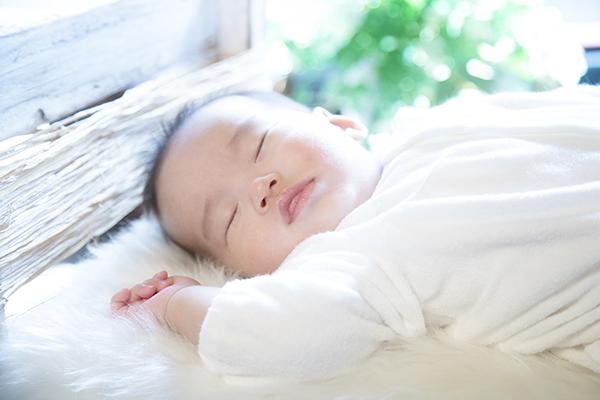宮参り、睡眠